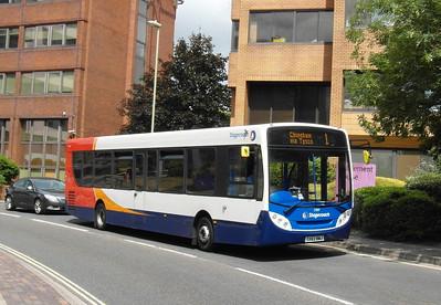 27837 - GX62BWJ - Basingstoke (Alencon Link) - 20.7.13