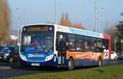 27558 - GX58GMV - Cosham (Portsmouth Road)