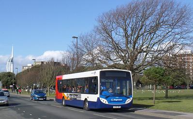 27553 - GX58GME - Southsea (Duisburg Way) - 22.2.14