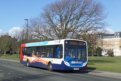 27556 - GX58GMO - Southsea (Duisburg Way) - 22.2.14