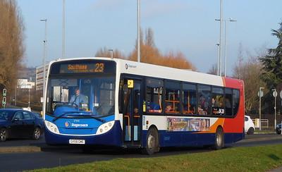 27553 - GX58GME - Cosham (Portsmouth Road)