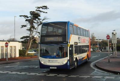 10001 - GX12DXM - Southsea (Clarence Pier) - 15.12.12
