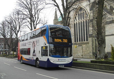 10009 - GX12DXR - Chichester (West St) - 30.3.13