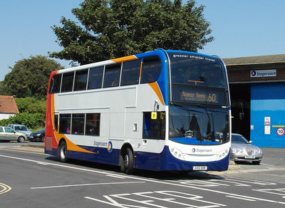 10009 - GX12DXR - Chichester (Basin Road) - 26.7.12