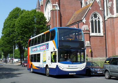 10001 - GX12DXM - Portsmouth (Bishop Crispian Way) - 180514