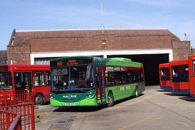 27513 - GX06DZH - Winchester (bus station) - 1.4.08