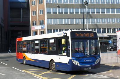 36842 - CN13AYV - Cardiff (bus station)