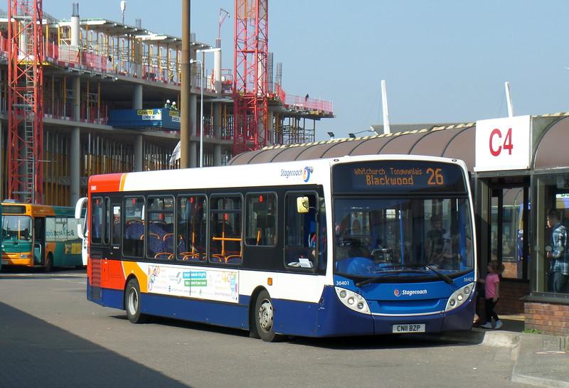 36401 - CN11BZP - Cardiff (bus station)