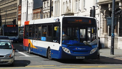 37173 - YX64VNS- Cardiff (Wood St)