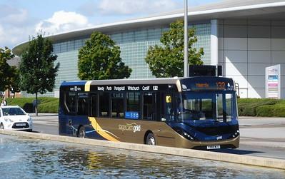 26100 - YX66WJJ - Cardiff Bay (Millenium Centre)