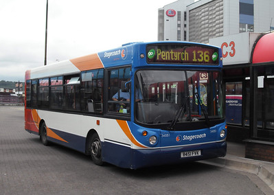 34051 - R451FVX - Cardiff (bus station) - 3.8.09