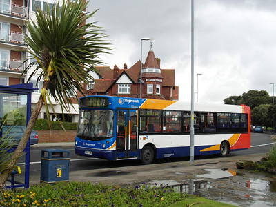 33611 - R611SWO - Southsea (South Parade Pier) - 14.7.12  A South Wales Dart covering vehicles sent to the Olympics in 2012.