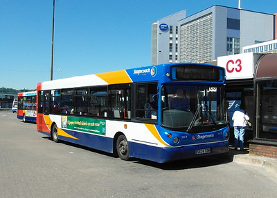 33624 - S624TDW - Cardiff (bus station) - 23.7.12