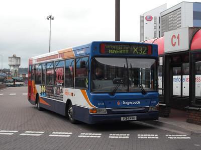 34134 - V134MVX - Cardiff (bus station) - 3.8.09