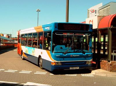 34677 - CN54ECY - Cardiff (bus station) - 1.8.07
