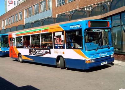 34503 - CN53HXC - Cardiff (bus station) - 1.8.07