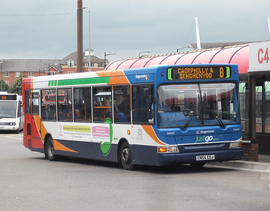 34665 - CN54EDJ - Cardiff (bus station) - 3.8.09