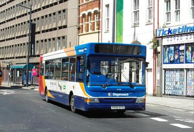 34769 - PX55EFB - Cardiff (Westgate St) - 23.7.12