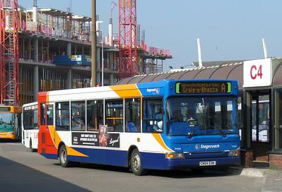 34666 - CN54EDK - Cardiff (bus station)