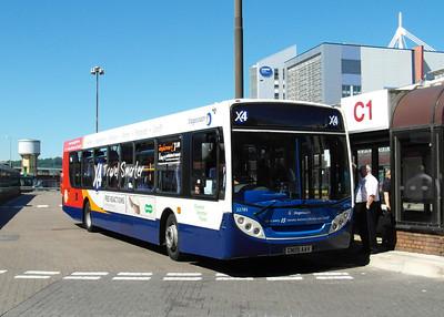 22785 - CN09AAV - Cardiff (bus station) - 23.7.12