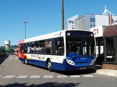 22786 - CN09AAX - Cardiff (bus station) - 23.7.12