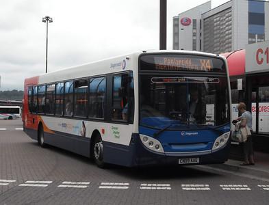22779 - CN09AAE - Cardiff (bus station) - 3.8.09