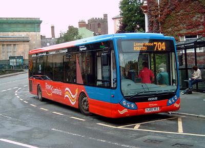 25102 - YJ55YFZ - Brecon - 4.8.07