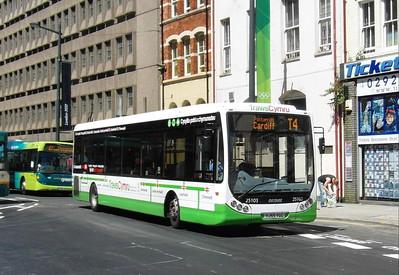 25103 - YJ55YGC - Cardiff (Westgate St) - 23.7.12