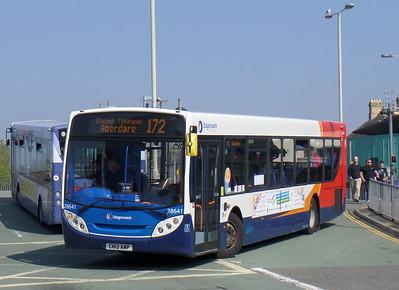 28641 - CN12AWP - Bridgend (bus station)
