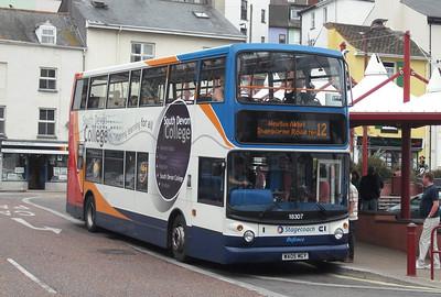 18307 - WA05MGY - Brixham (town centre) - 10.8.09
