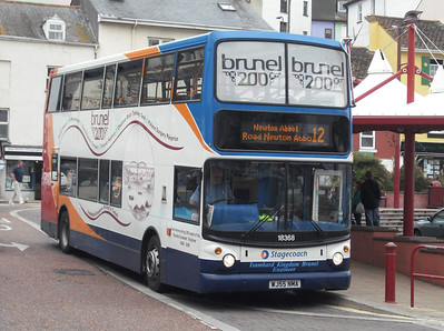 18368 - WJ55NMA - Brixham (town centre) - 10.8.09