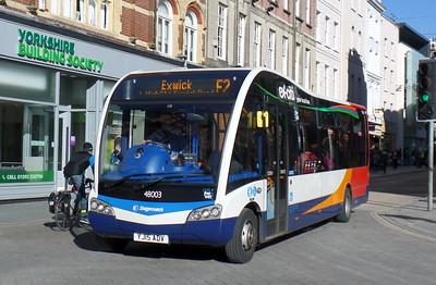 48003 - YJ15ADV - Exeter (High St)