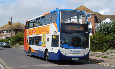 15666 - WA10GHH - Lyme Regis (Anning Road)