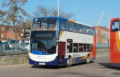 15431 - KX08KZA - Exeter (bus station) - 19.2.13