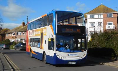 15663 - WA10GHD - Lyme Regis (Anning Road)