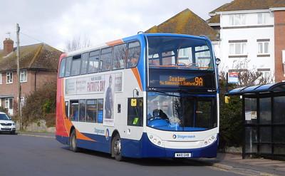 15662 - WA10GHB - Lyme Regis (Anning Road)
