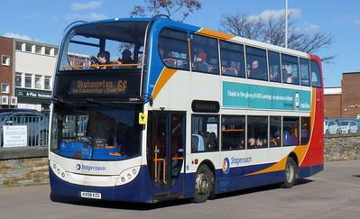 15434 - KX08KZG - Exeter (bus station)