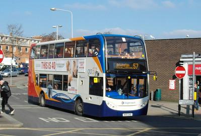 15663 - WA10GHD - Exeter (Bampfylde St) - 19.2.13