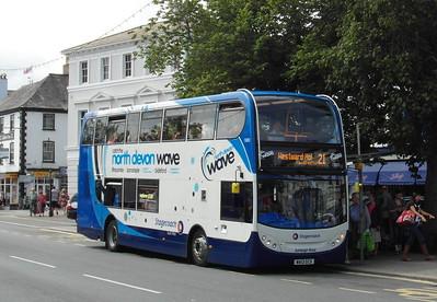 15883 - WA13GCX - Bideford (Quay) - 30.7.13