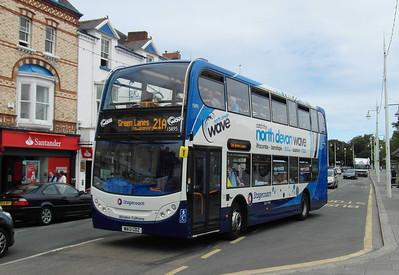 15895 - WA13GDZ - Bideford (Quay) - 30.7.13