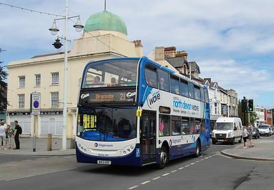 15893 - WA13GDX - Bideford (Quay) - 30.7.13