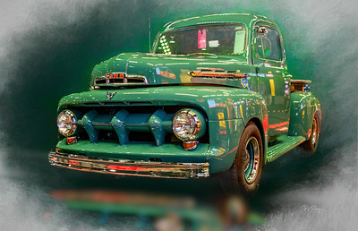 Green Ford Pickup