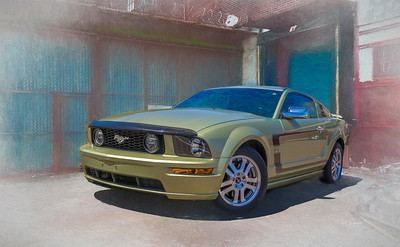 Green Stang