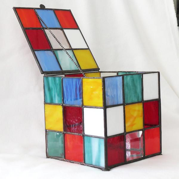 #63. $200.00 One of Kind, Rubiks Cube Box