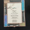 SOLD #50. $200.00, Wedding Keepsake box personalized with clients wedding invitation