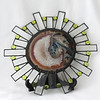 #56. $150.00 Indian Head Agate Suncatcher