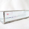 #99. $30.00 IR Frosted glass holder