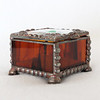 #12. $45.00 - Mini ring box/amber/copper