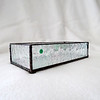 #70. $60.00 IR pebbled glass candle holder