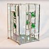 #27 $120.00 / green gem bevel vase